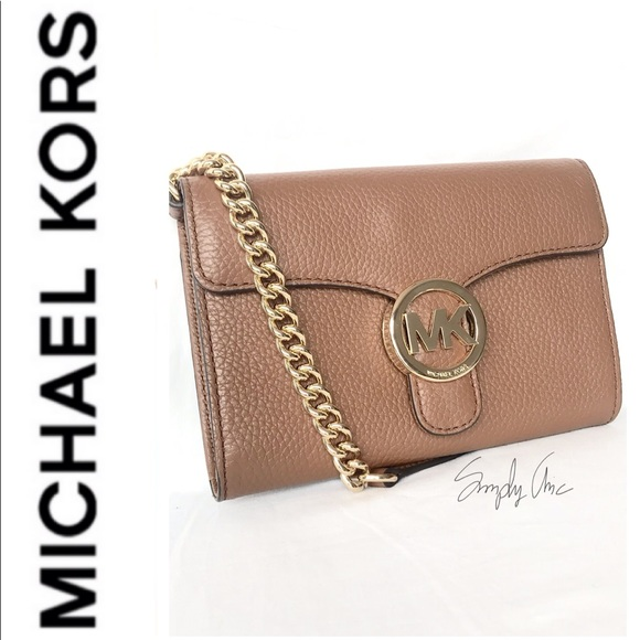b017f1537beb New authentic MK Vanna pebble leather Crossbody. Boutique. Michael Kors